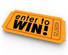Enter To Win Raffle Ticket Win...