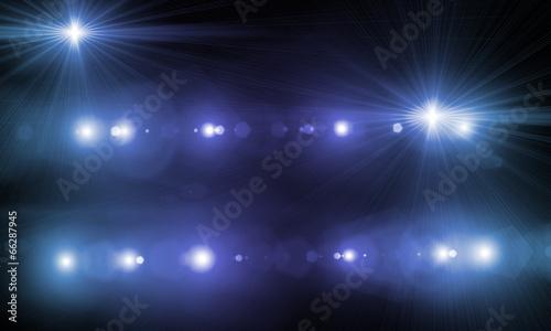Fototapeta Stage lights obraz na płótnie