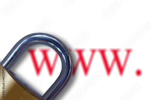 Valokuvatapetti Internet censure concept