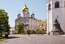 Moscow's Kremlin Cathedral Of ...
