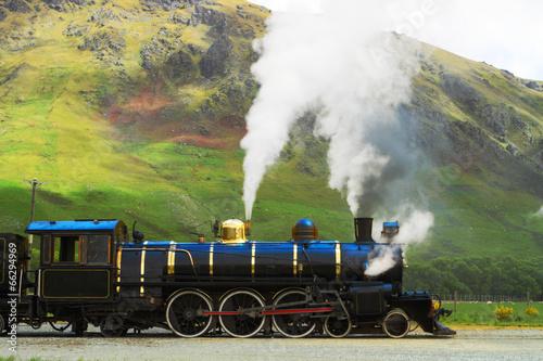Steam train Fototapeta