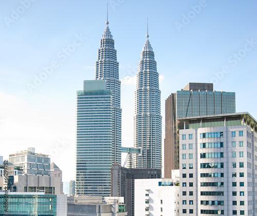 Photo Stands Kuala Lumpur Kuala Lumpur skyscrapers
