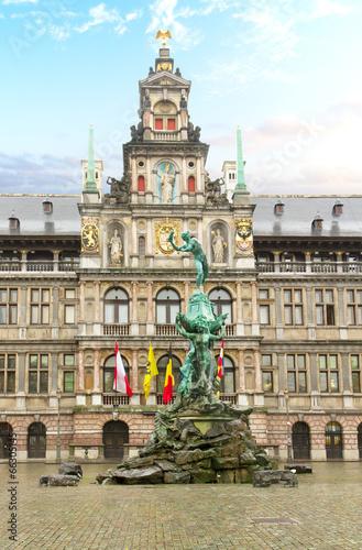 Keuken foto achterwand Antwerpen Stadhuis (city hall), Antwerpen