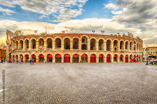 The Verona Arena Canvas Print