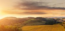 Beautiful Hilly Field, Photogr...