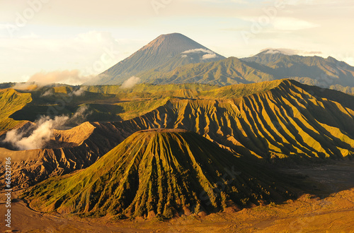 Fotobehang Vulkaan Mount Bromo Volcano of East Java, Indonesia