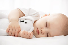 Carefree Sleep Little Baby Wit...