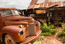 JEROME, USA - AUGUST 26:Jerome Arizona Old Car,2013