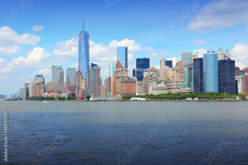 New York - Manhattan skyline Plakat