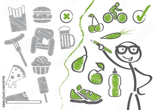 Fotografia  Zmiana diety - żyj zdrowo