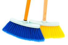 Blue And Yellow Broom