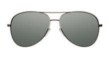 Aviator Sunglasses Isolated On...