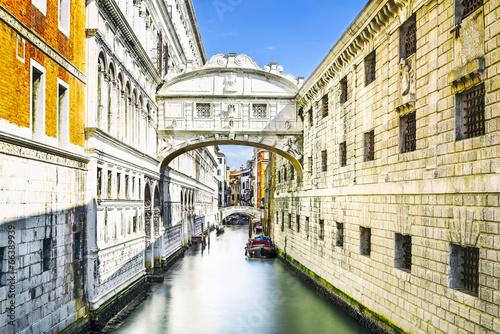 Obraz Most Westchnień w Wenecji, Włochy - fototapety do salonu