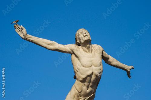 statue icarus Fototapet
