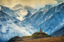 Maitreya At Disket Monastery, Ladakh, India