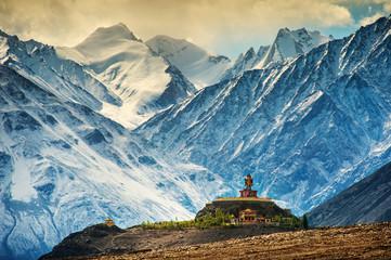 Klasztor Maitreya i Disket, Ladakh, Indie