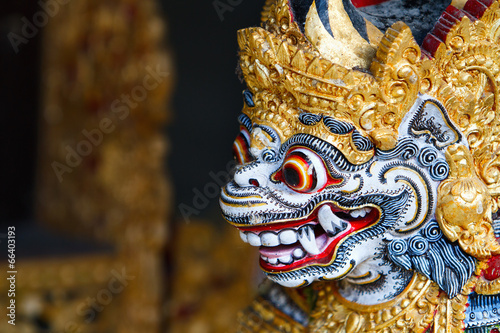 Photo Stands Bali Balinese God statue