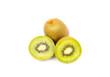 Kiwi fruit and Chinese gooseberry (Actinidia chinensis).