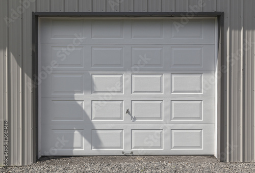 Fotografie, Obraz  White Garage Door