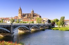 Salamanca Cathedral.