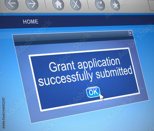 Cuadros en Lienzo Grants application.