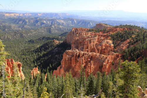Foto op Plexiglas Bruin rainbow Point, Bryce Canyon