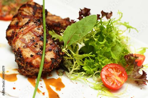 Fotografie, Obraz  Gourmet food, restaurant meat