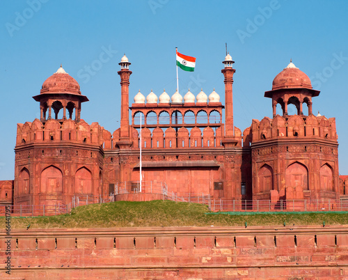 Canvas Prints Delhi Red Fort in Delhi, India