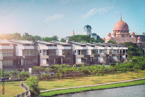 Housing development  in Putrajaya - Kuala Lumpur, Malaysia Poster