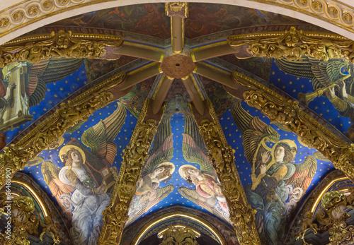 Plakat Katedra w Walencji Renesansowe freski