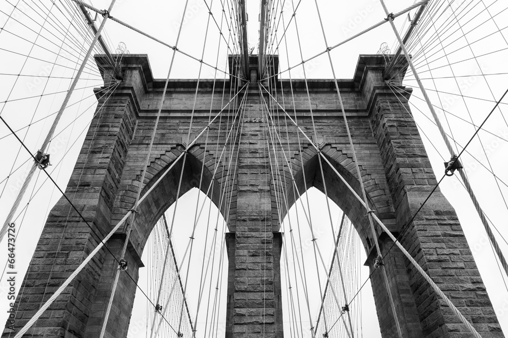 Fototapeta Brooklyn bridge in new york - USA