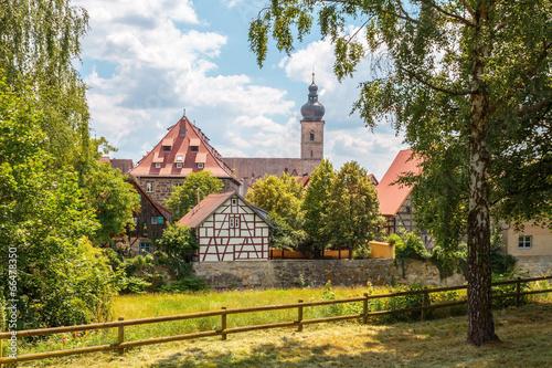 Obraz Classical City of Forchheim - fototapety do salonu