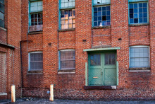 Abandoned WWII Red Brick Facto...