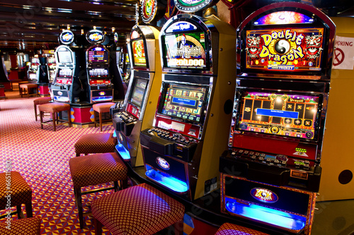 Photo sur Aluminium Las Vegas slot machine