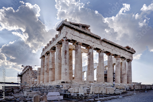 Canvas Prints Photo of the day Acropolis of Athens © Çetin Ergand 2014