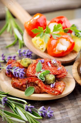 In de dag Buffet, Bar Mediterrane Snacks - Antipasti