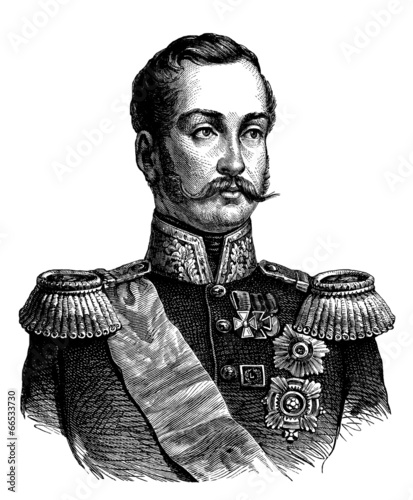 Slika na platnu Noble Russian Man - 19th century
