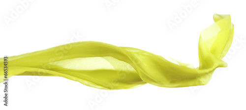 Foto  Female scarf isolated on white
