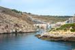 Xlendi, town at Gozo island, Malta