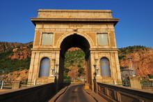 Hartbeespoort Dam Arch, Pretoria At Sunset