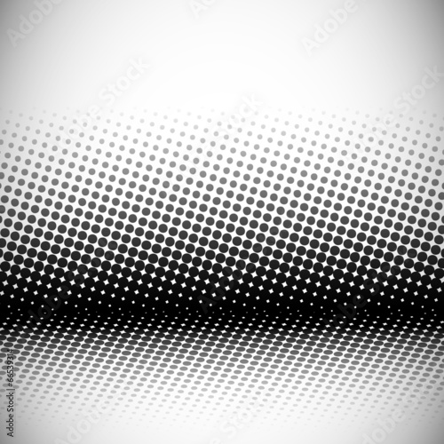 Fotografie, Obraz  abstract background with halftone effect