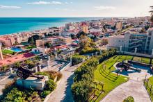 Torremolinos Coast. Malaga, Sp...