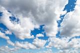 Biało szare chmury