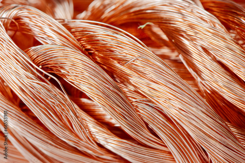 Fotografía  Copper wire