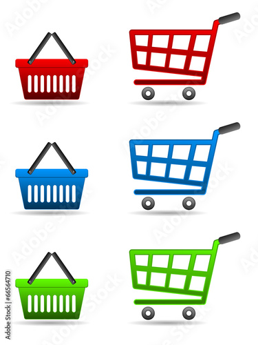 Fotografía  shopping cart