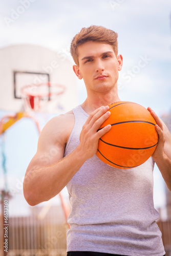 Fotografiet  Basketball player.