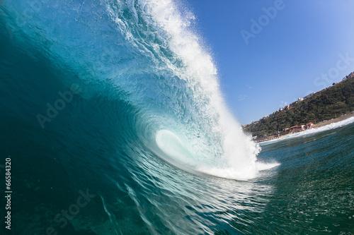 Wall Murals Ocean Blue Hollow Wave Swimming Power