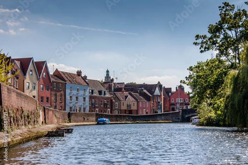 Obraz na płótnie River Wensum - Norwich Daytime
