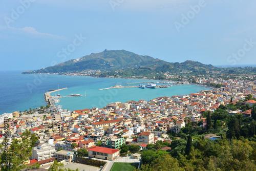 Obraz na plátně Zakynthos island at the ionian sea in Greece
