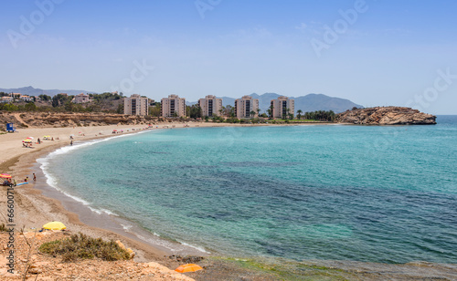 Playa De Mojon at Mazarron Murcia Province Spain
